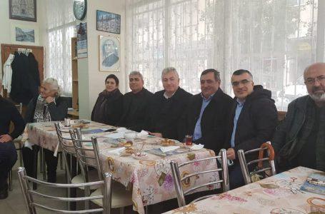 """Başkan Gök; Kurumsal ziyaretler kapsamında İzmir""""deyiz"""