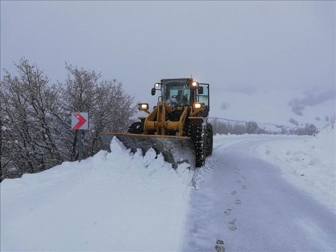 Merkeze bağlı kapalı köy yolu kalmadı