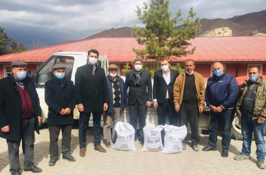 Sivas İl Tarım ve Orman Müdürlüğü tarafından yürütülen Nadas Alanlarının Değerlendirilmesi Projesi için  tören düzenlendi