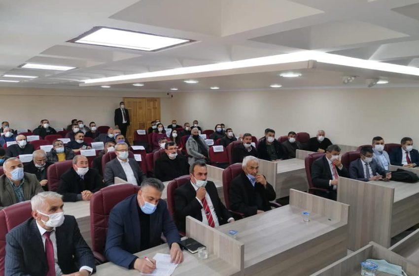 Başkan Gök; CHP Sivas İl ve İlçe Başkanları toplantısına katıldık