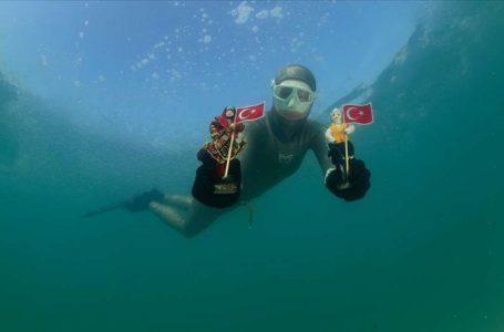 Dünya dalış rekortmeninden Sivas'ta rekor denemesi