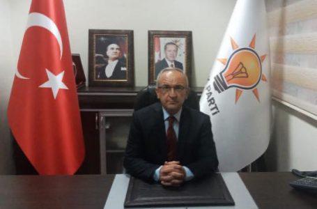 Ak Parti ilçe Başkan Gazioğlu; Sayın Valimize ilçemizi ziyaretleri ve vermiş oldukları destekten dolayı çok teşekkür ederim