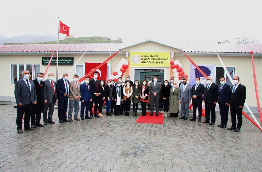 Naci Demirağ Anadolu Lisesi'nin Açılışı Yapıldı