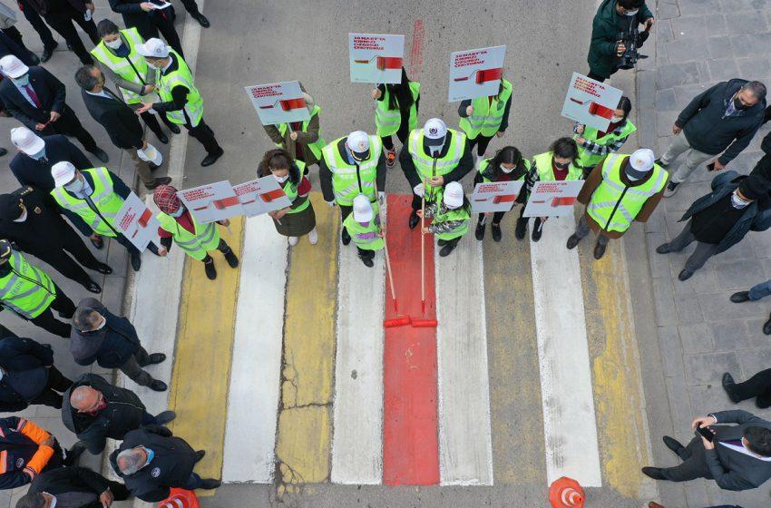 Yaya Geçitlerinde 'Kırmızı Çizgi' Dönemi Başlıyor