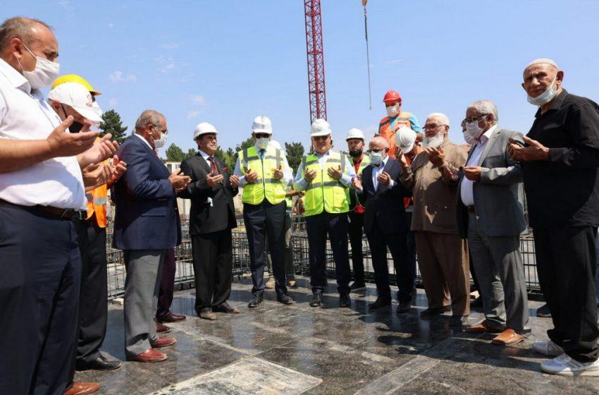 Merkez Cami ve Külliyesi'nin 29 Mayıs 2023'te Açılması Planlanıyor